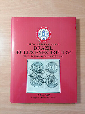 Brazil Bull's Eyes stamp auction catalogue