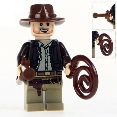G3 - Indiana Jones - Custom Minifigure Gashapon MOC LEGO - Nuovo in Blister