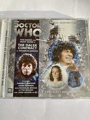 Doctor Who 'The Dalek Contract' CD