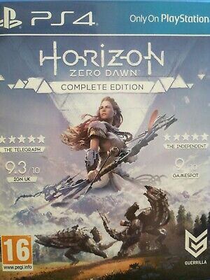 Horizon Zero Dawn Complete Edition PlayStation 4 PS4