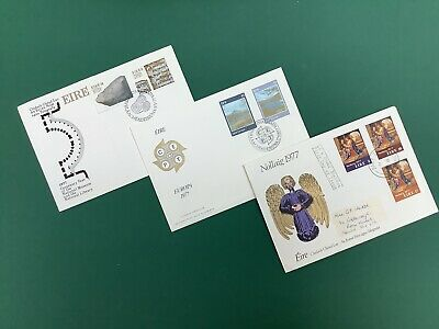 Ireland Eire First Day Covers FDC x 3 1977
