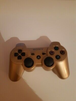 Ps3 Controller in gold