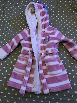 Baby Girls Minnie Mouse Dressing Gown