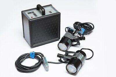 Broncolor mobil kit with Studio booster and two 1600J heads.