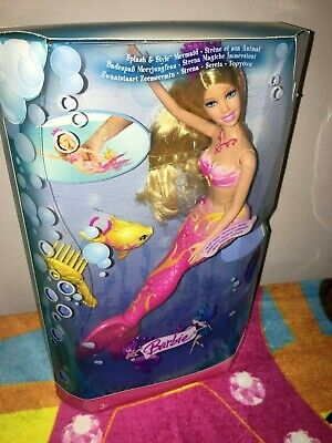 Barbie Splash & Style Mermaide Doll Rare New-Nrfb Mib