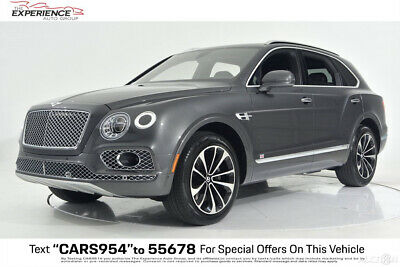 2017 Bentley Bentayga W12 Touring Adaptive Anthracite Seat Comfort Picnic Tables Sunshine 21 Wheels