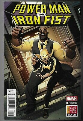 Power Man & Iron Fist #1 In Store Convention Kick Off Variant Luke Cage