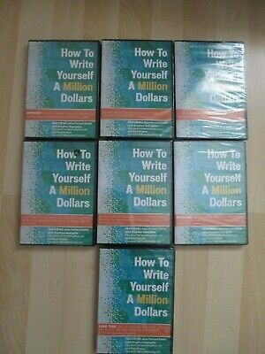 How To Write Yourself A Million Dollars 7 DVD Set Alan Forrest Smith / Stephen G