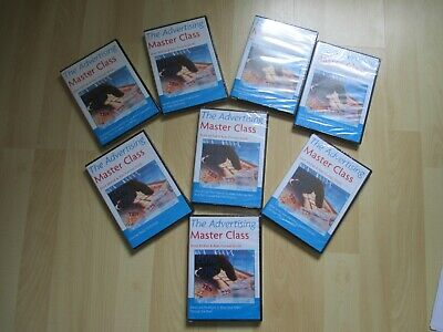 The Advertising Master Class 8 DVD Set by Brett McFall & Alan Forrest Smith NEW
