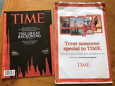 NEW TIME Magazine 2020, May 18: Great Reckoning, Depression Unemployed Pandemic