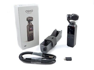 DJI Osmo Pocket Handheld Camera with 3-Axis Mechanical Gimbal