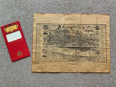 Old Map of London (1593): An Antiqued Parchment Replica - The Olde Map Company
