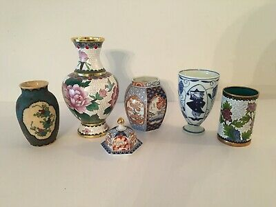 5 Small Vases - Chinese?