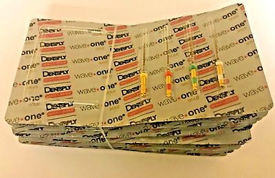 Waveone Gold Wave One Assorted Endodontic File Root Canal Dentsply LOT 10pk 21mm