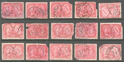 Canada #53 Three Cent Jubilee 30 CDS Cancels