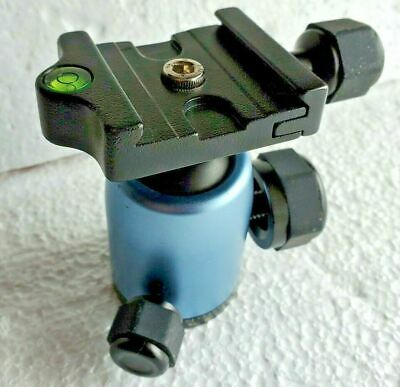 Manfrotto Element Ball Head ONLY for Manfrotto Element Tripod - Black Blue