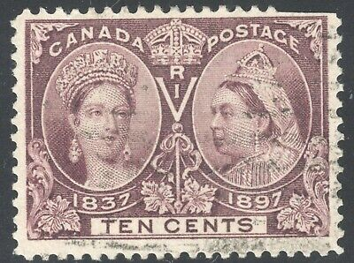 Canada #59 Ten Cent Jubilee Used