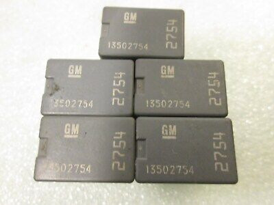 5X Gm Denso  Relay 13502754  2754  Oem