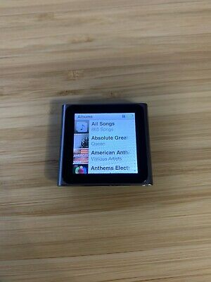 Apple iPod nano 6th Generation Gen Silver 16GB