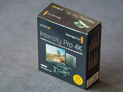 Blackmagicdesign Intensity Pro 4K UltraHD Capture PCIe Card Black Magic