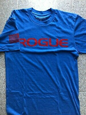 T-shirt Rogue Basic blue/red tg S