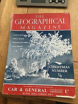 The Geographical Magazine December 1939 Christmas Number Freya Stark article