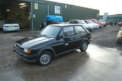 Mk2 Ford Fiesta Xr2 In Black From Hot Climate 70960 Kilometres