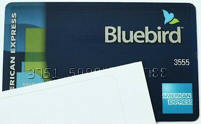 Expired American Express Bluebird Debit Credit Card Bank
