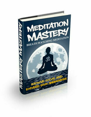 Meditation Mastery,Pdf Format M Resell Rights Free shipping