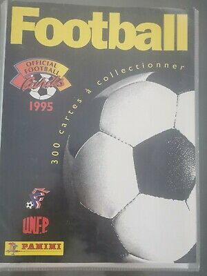 Album Collector Panini Football Cards 1995 Manque 4 Cards