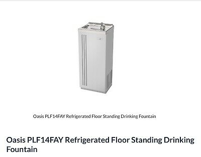 Oasis Refrigerated Floor Standing Drinking Fountain