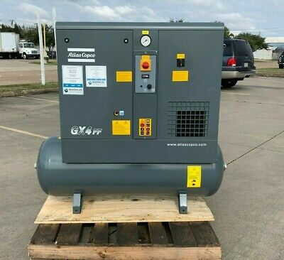 5Hp Air Compressor, Atlas Copco Screw Compressor #1330