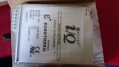 Eurotherm Controls Q406-A002 Signal Conditioner, New In Sealed Box
