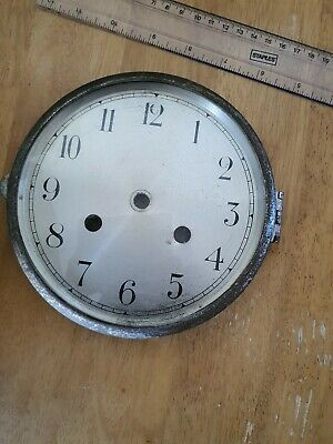 Vintage Glass Front Clock Dial