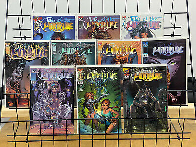 Tales of the Witchblade #1 2 3 4 5 6 7 8 9 + Wizard #1/2 Complete Mini Series