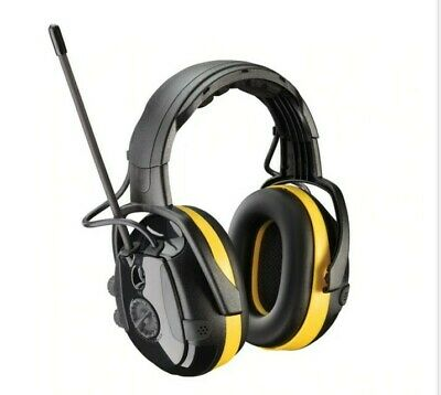 Yellow OS Hellberg Secure React w AM/FM & Level Dependent 24 dB NRR Level 2