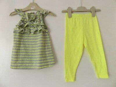 Carter's summer outfit / set top and leggings aged 2 Years