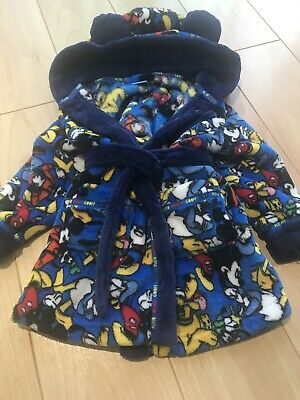 Disney Mickey Mouse Dressing Gown 18-24mths