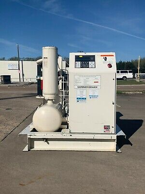 75Hp Gardner Denver Screw Compressor #1321