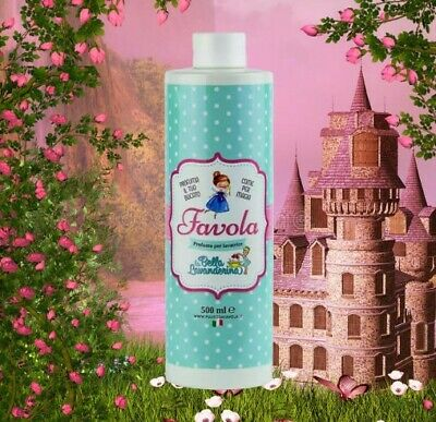 Profumo Essenza Bucato FAVOLA by LA BELLA LAVANDERINA 500 ml super concentrato