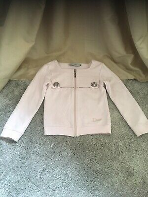 Christian Dior Girls Jacket Age 6 Baby Pink