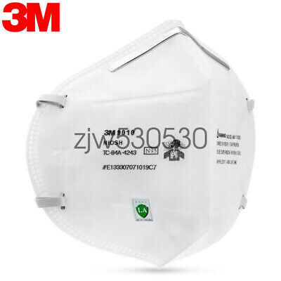 5 Pack 3M 9010CN N95 Disposable Face mask Mouth Nose Cover KN95 NIOSH Approved