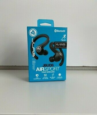 JLab Audio JBuds Air Sport In-Ear Wireless Headphones - Black