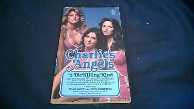 Charlie's Angels  #2:  The Killing Kind By Max Franklin  (1977) Tv Tie In Pb