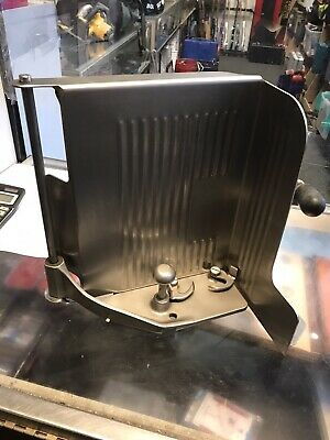 Globe Slicing Machine 3500 3750 3875 Stainless Chute Support End Weight assembly