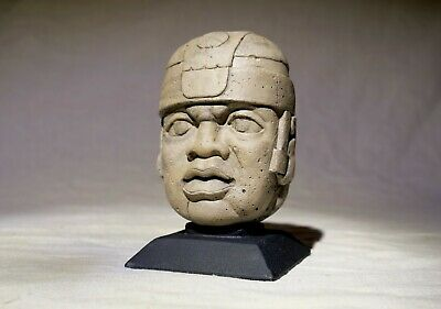 Mini Colossal Olmec Head (San Lorenzo) - Sand