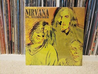 NIRVANA-LIVE...NEVERMIND TOUR `91 (2LP) VINYL NEW SEALED YELLOW Record