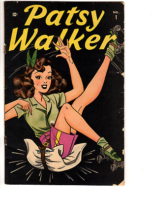 Patsy Walker #1 (GD/VG 3.0) 1945 Key Issue, Great gloss, Classic cover