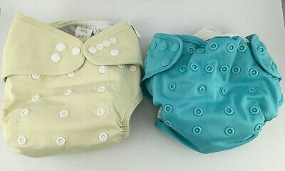 Lot of Cloth Diaper + Cover + Inserts - Trend Lab - Bumkins