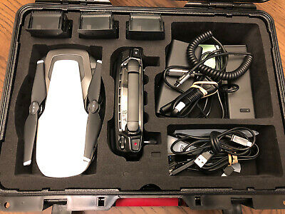 DJI Mavic Air Fly More Combo Quadcopter - Foldable, Pocket-Portable Drone -MINT